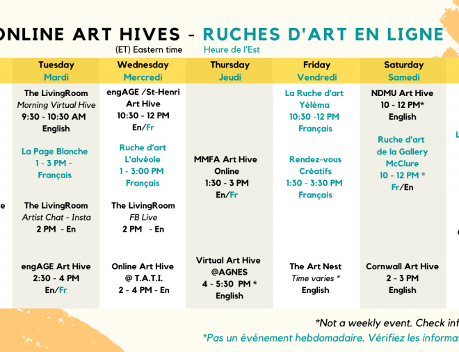 online art hives / day calendar